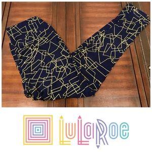 New LuLaRoe black and gold leggings
